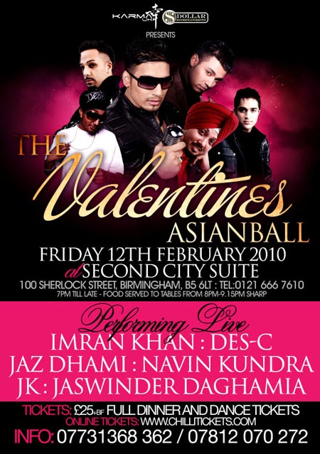 THE VALENTINES ASIAN BALL @ SECOND CITY SUITE