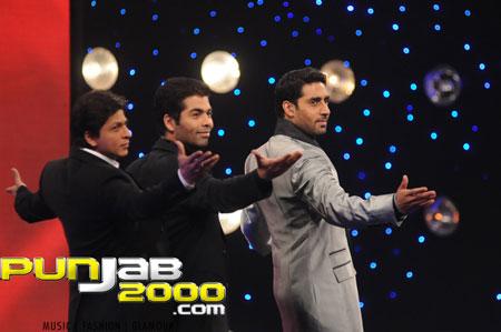 'What a Dostana! Shahrukh Khan and Karan Johar join Abhishek Bachchan for 'National Bingo Night'!