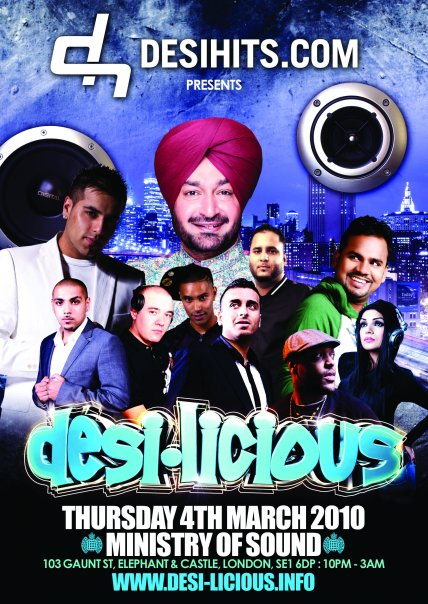Desi-Licious @ Ministry of Sound