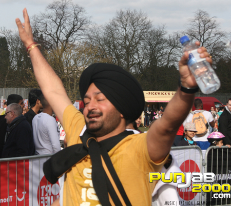 BBC Asian Network's Bollywood Mile for Sport Relief