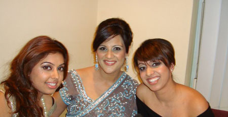 Billan sisters interview Sonia Deol @ the Brit Asia TV 2010 Awards