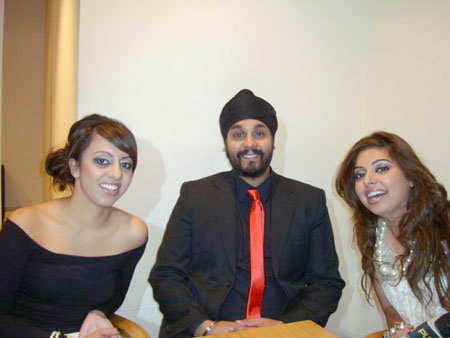 Billan sisters interview with Surj of RDB @ the Brit Asia TV 2010