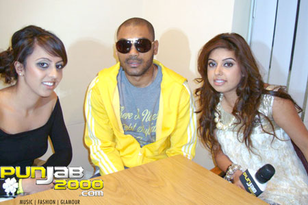 Billan sisters interview with UK Grime artiste Kano @ the Brit Asia TV 2010 awards