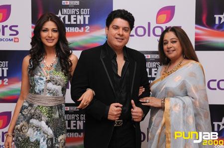 Judges of India's Got Talent Khoj 2 -  Sonali Bendre Sajid Khan  Kirron Kher