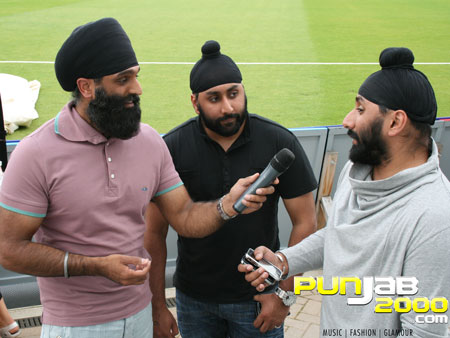 Tony Bains interview's with the Kray Twinz on the set of Patiala House