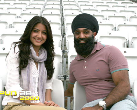 Tony Bains interview with Anushka Sharma on the set of Patiala House