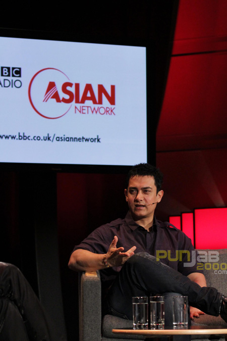 Aamir Khan speaks to BBC Asian Network's Raj and Pablo