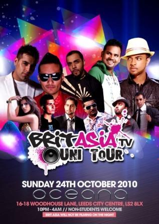 Brit Asia TV Uni Tour - Leeds Oceana