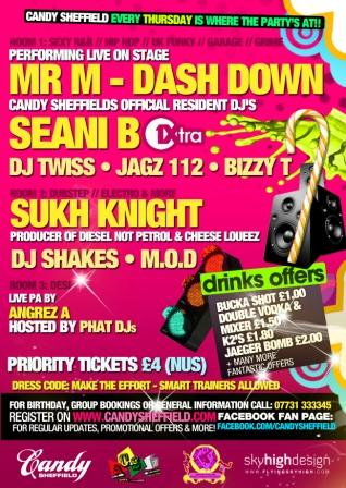 CANDY LAUNCH PARTY   THURSDAY 30TH SEPT @ SUPERCLUB EMBRACE SHEFFIELD!