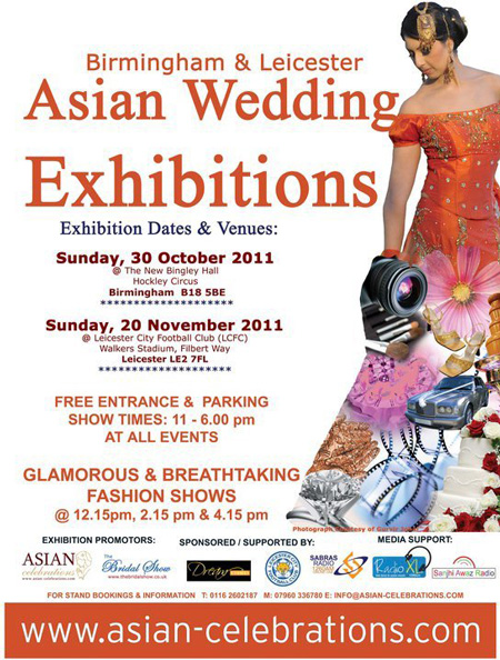 Asian Celebrations 2010 Wedding Exhibitions