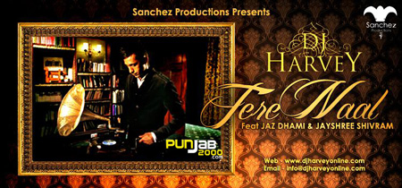 DJ HARVEY Presents - Tere Naal FT. Jaz Dhami & Jayshree