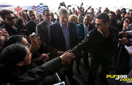 Akshay Kumar & Stephen Harper Canadian Prime Minister