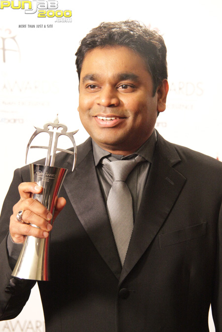 AR Rahman at the 2010 Asian Awards