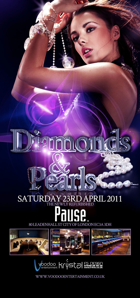 Voodoo Ents Present Diamonds And Pearls At Pause
