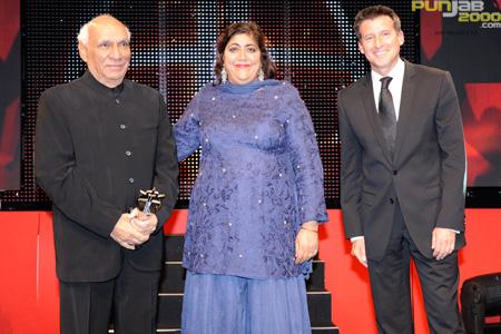 Yash Chopra, Gurinder Chadha & Lord Sebastian Coe
