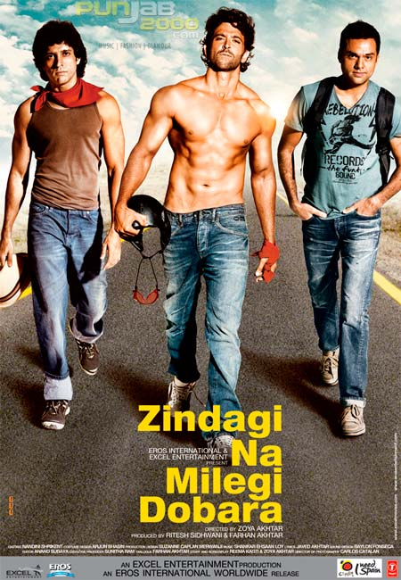 Eros International's Zindagi Na Milegi Dobara grosses US.7 million in first week; Film features in UK Top 10 and US Top 20