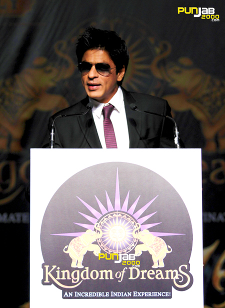 Kingdom of Dreams with Shah Rukh Khan