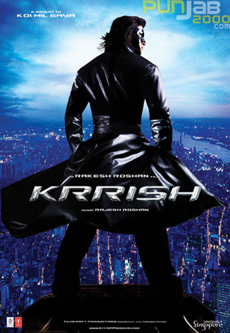 Three doses of Bollywood Superstar, Hrithik Roshan, as he plays triple role in 'Krrish 3'!