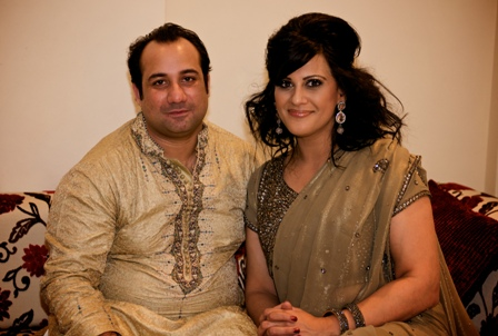 Rahat Fateh Ali Khan in Conversation with Sonia Deol (Picture courtesy BBC)