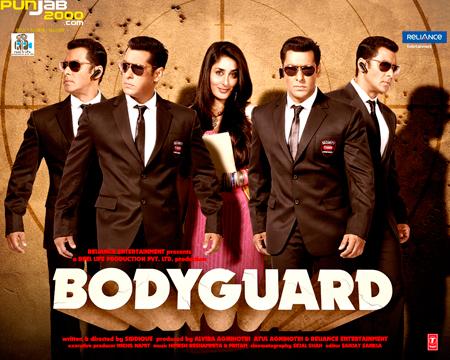 Salman Khan, Kareena Kapoor & Katrina Kaif in Bodyguard