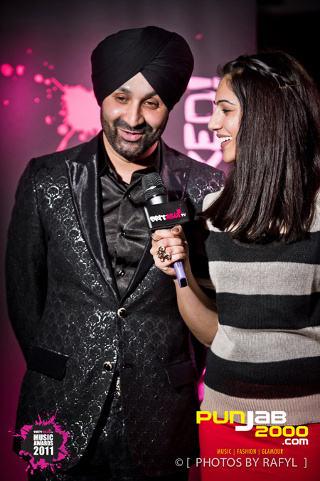 Sukshinder Shinda @ The Brit Asia TV Awards 2011 Nominations