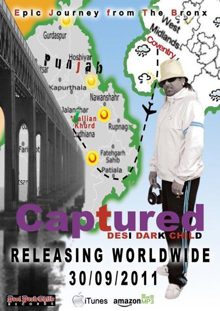 CAPTURED - The new album by Desi Dark Child