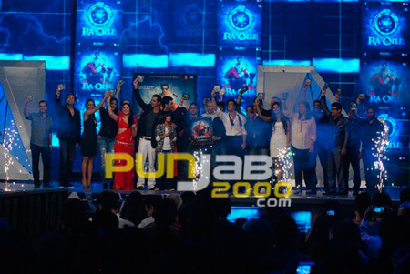 Ra One music launch by cast n crew