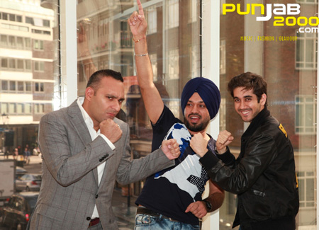 Russell Peters, Vinay Virmani and Gurpreet Ghuggi