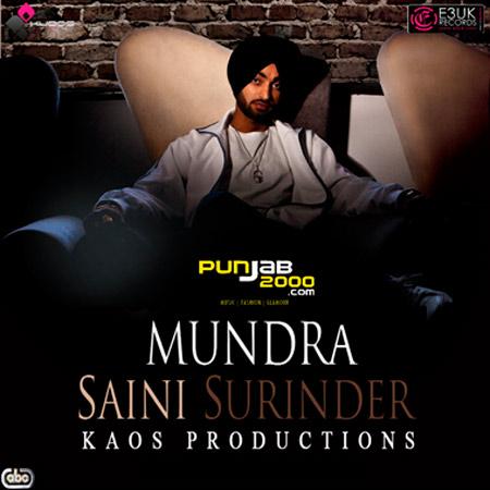 'Mundra' - Saini Surinder / Kaos Productions