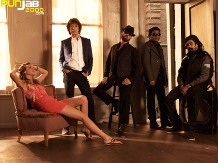 SuperHeavy the group comprises Mick Jagger, AR Rahman, Damian Marley, Dave Stewart and Joss Stone.