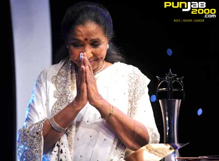 The Kingfisher Airlines Lifetime Achievement Award: Asha Bhosle