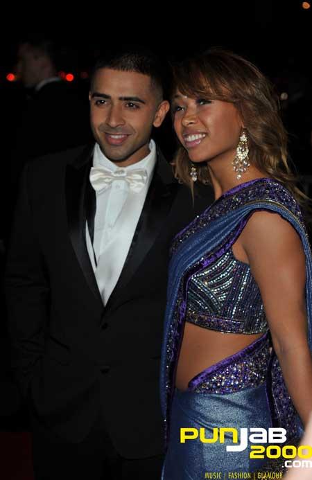 Jay Sean and Thara Natalie - The Asian Awards 2011