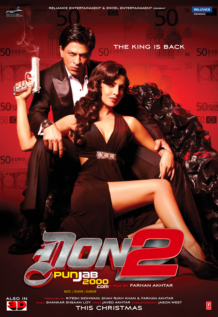 DON 2 STAYS STRONG IN TOP 10 UK BOX OFFICE CHARTS!