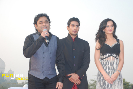 AR Rahman Prateik  Amy Jackson at Music Launch