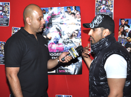 Dj Sanj Interview @ BritAsia 2011 Music Awards