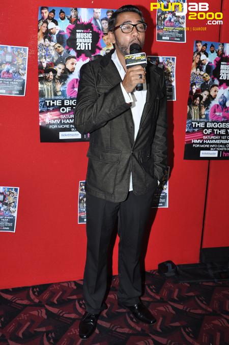 D Boy & D Sarb interview at the Brit Asia TV Awards 2011