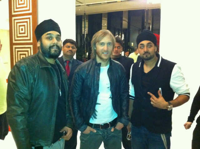BOLLYWOOD HIT MAKERS RDB MEET SUPERSTAR DJ DAVID GUETTA TO TALK MUSICAL COLLABORATIONS AND HIT SINGLES!