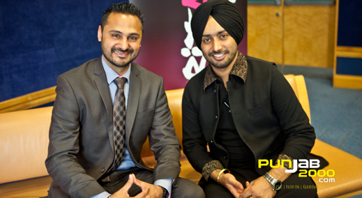 Satinder Sartaaj UK Interview With Upinder Randhawa