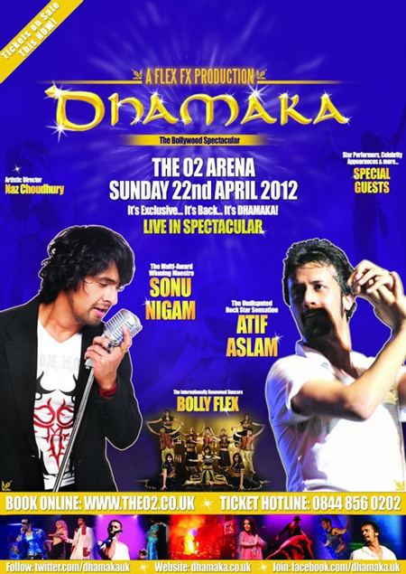 Win Tickets for Dhamaka with Atif Aslam & Sonu Niigaam