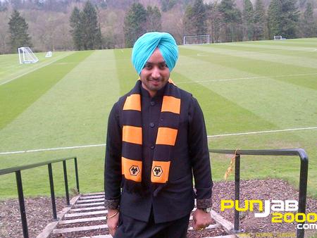 International Sufi singer Satinder Sartaaj visits Wolverhampton