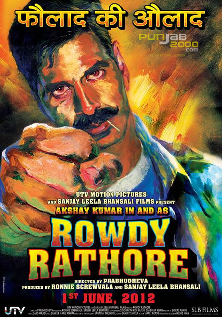 Bollywood's Original Action Hero Akshay Kumar Gets 'Rowdy' In Bollywood's Latest Action Drama 'Rowdy