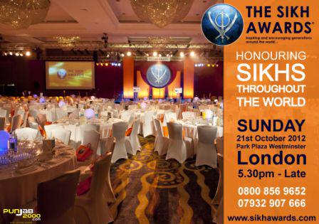 WORLD SIKH AWARDS 2012