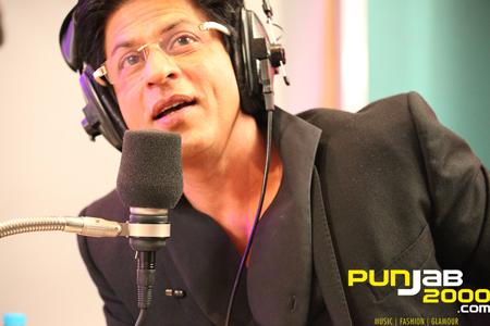 DJ Shah Rukh Khan on the BBC Asian Network