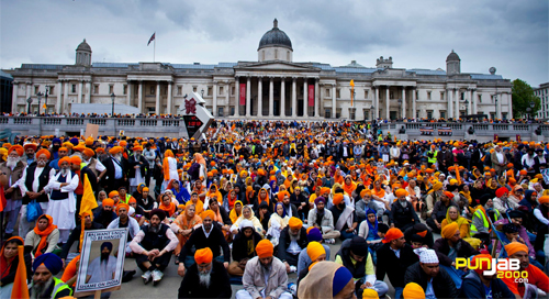 Sikhs Freedom Rally and Remembrance March
