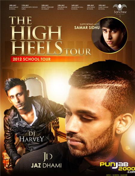 Jaz Dhami High Heels School Tour
