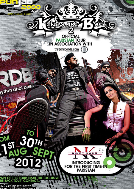 'The Kings Are Back' - RDB Ready To Rock Pakistan with 2012 Tour