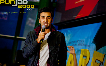 Ranbir Kapoor steps out on the red carpet to promote Barfi in London.
