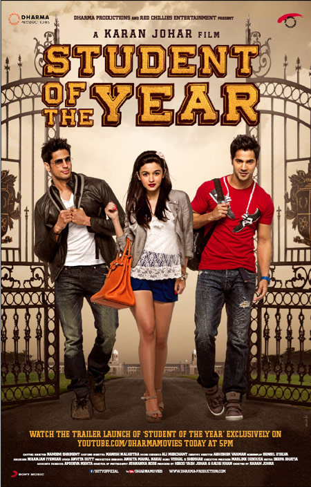 Student of the Year movie another review by Aashna Singh
