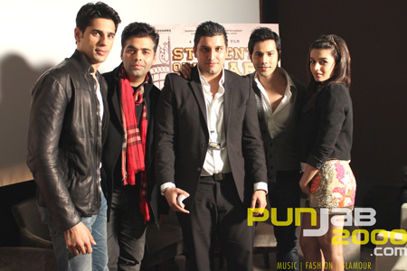 "Exclusive interview with the cast of Dharma Productions ""Student Of The Year"""