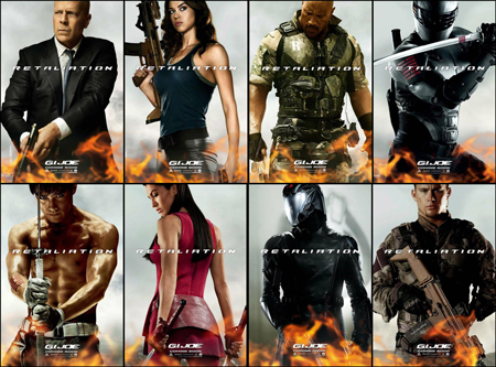 Exclusive Pictures From G.I. Joe: Retaliation World Premiers